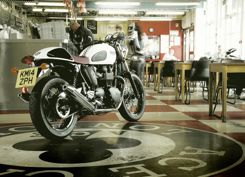 Triumph Thruxton Ace - motos cafe racer