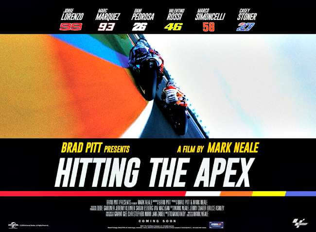 pelicula documental sobre MotoGP Hitting the Apex