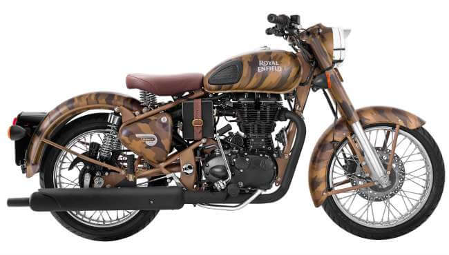 Royal Enfield Desert Storm Camouflage Limited Edition