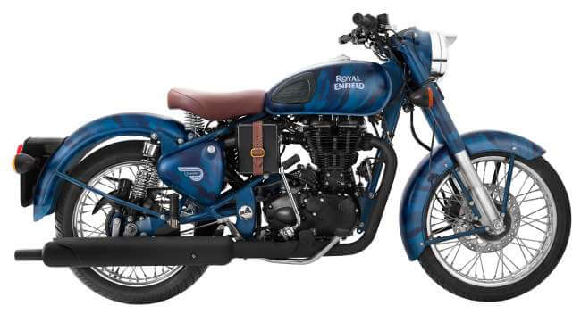 Royal Enfield Squadron Blue Camouflage Limited Edition