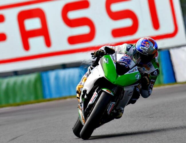 SBK Magny Cours 2015 Kenan Sofuoglu