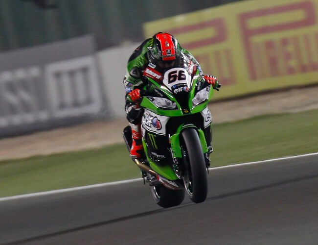 SBK Qatar 2015 Tom Sykes Superpole