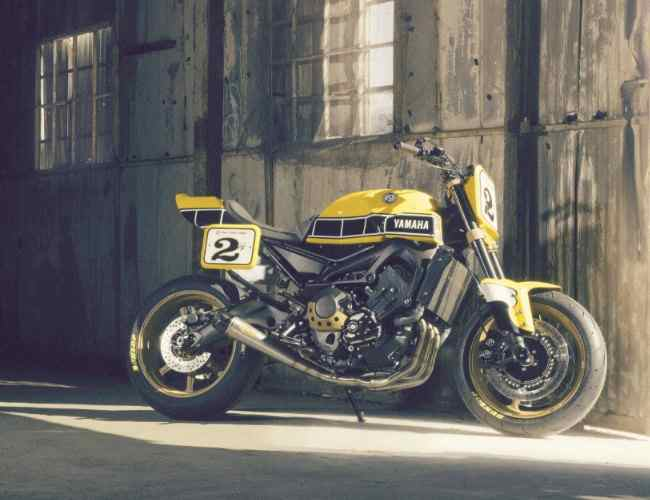 Yamaha Yard Built 900 Faster Wasp