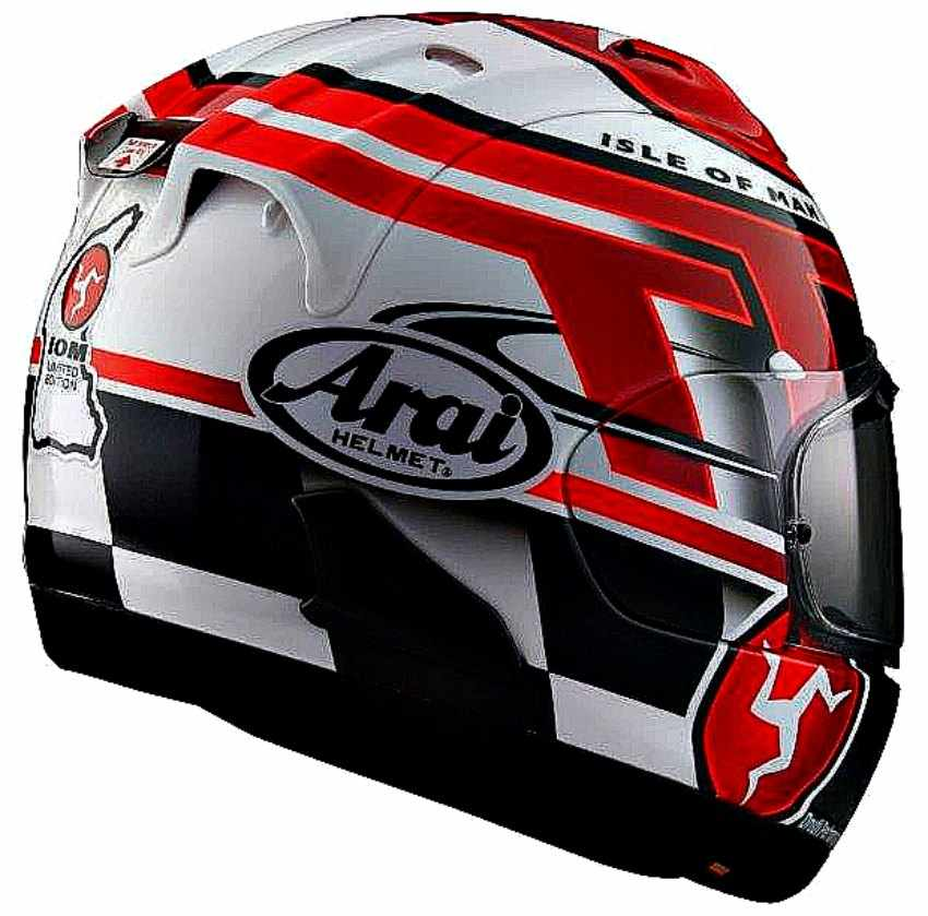 Arai TT 2016 IOM RX-7V Isle Of Man Limited Edition