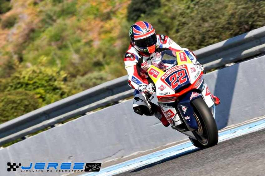 Test Moto2 Moto3 Jerez Sam Lowes