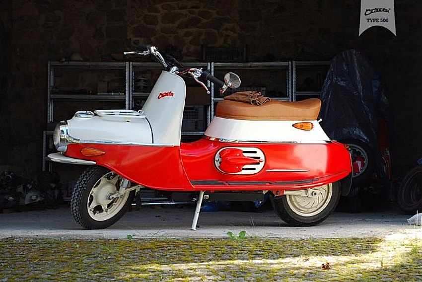 Cezeta 506 Scooter retro
