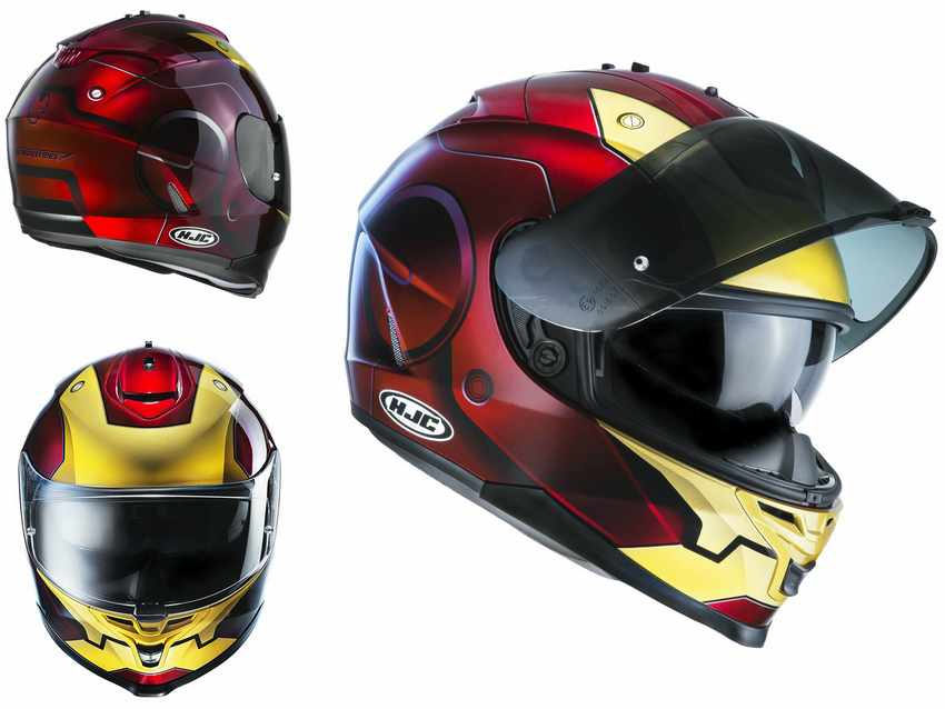 Casco Moto HJC IS-17 IRON MAN