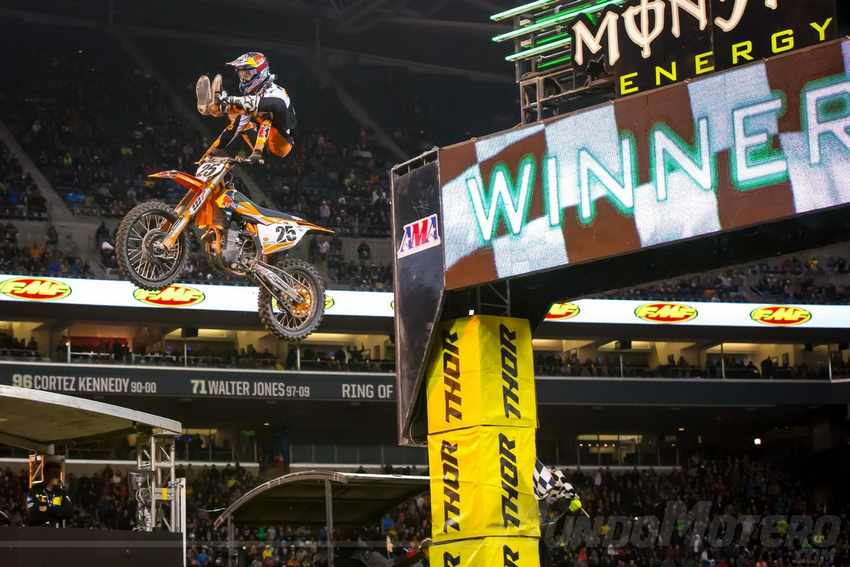 AMA Supercross 2017 Rd 14 Seattle Marvin Musquin