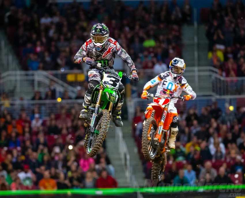 AMA Supercross 2017 Rd 14 Seattle Tomac Dungey