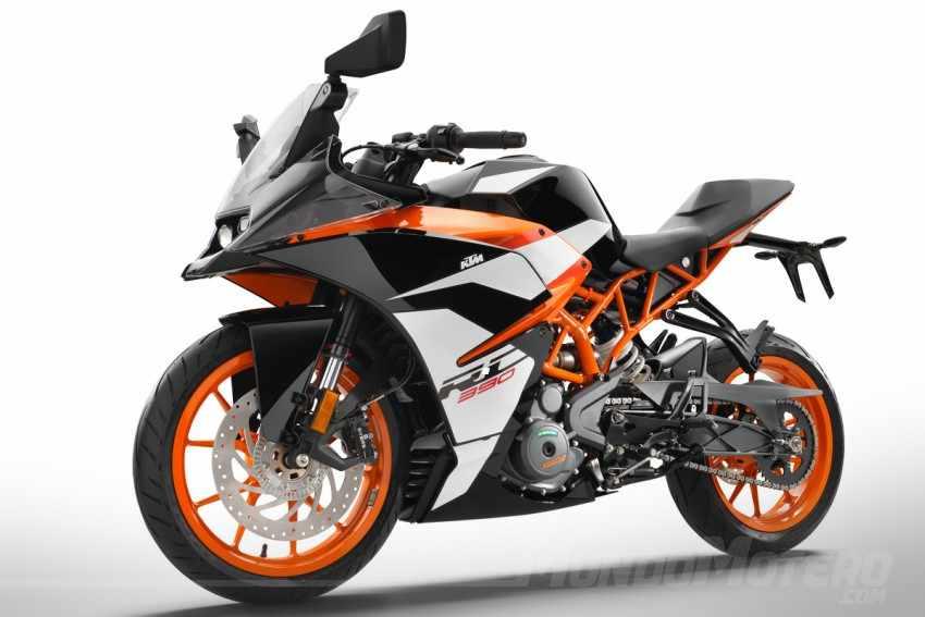 motos deportivas 400 - KTM RC 390 2018