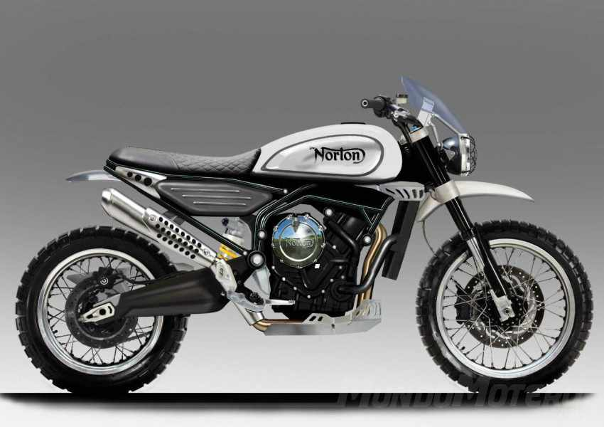 Norton Scrambler 650 y Supersport 650 en desarrollo