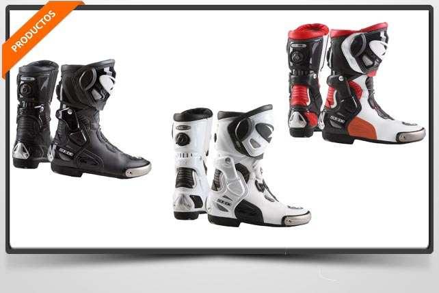 PRODUCTOS: Botas Aragon de AXO. La marca italiana ha desarrollado unas botas de competición que incorporan el sistema de cierre BOA