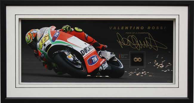 Autografo Valentino Rossi