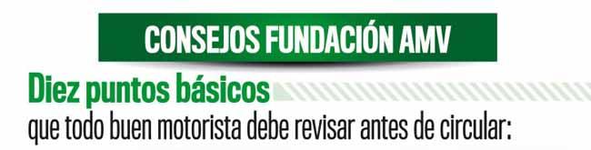 Fundacion AMV Seguros consejos revisar moto