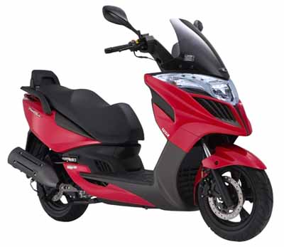 Nuevo scooter Kymco Yager GT