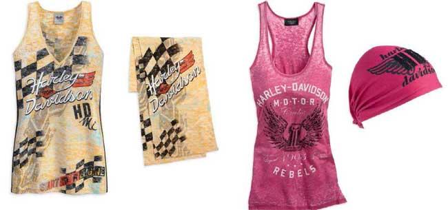 d261b394b6 Nueva colección de ropa Harley-Davidson para mujer 2013