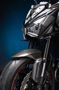 Accesorios de carbono para la Kawasaki Z800