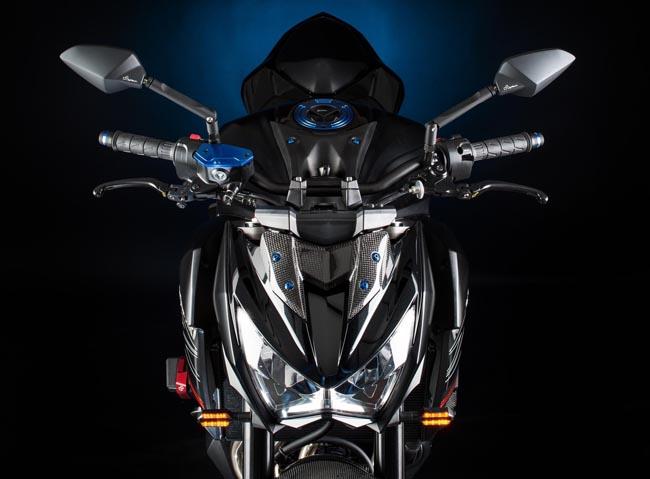 Accesorios para la Kawasaki Z800 por Ligthtech