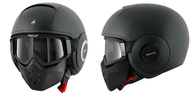 Casco de Moto modular Shark Raw
