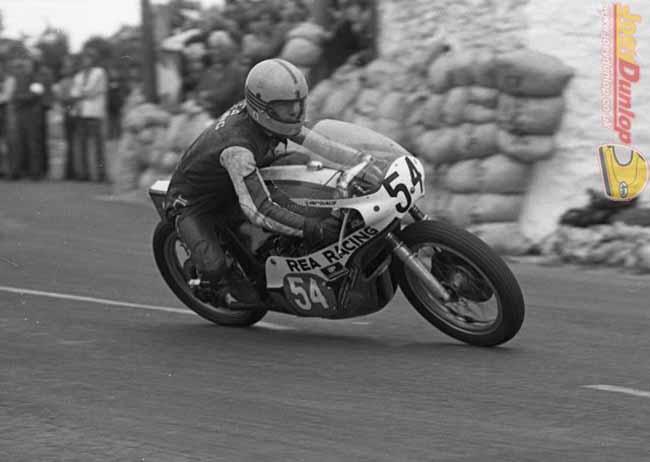 Joey Dunlop Southern 100 1977