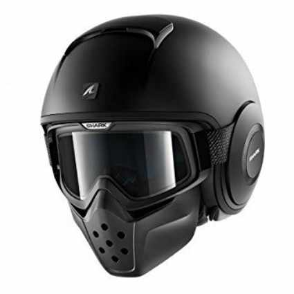 casco de moto SHARK Raw Dark