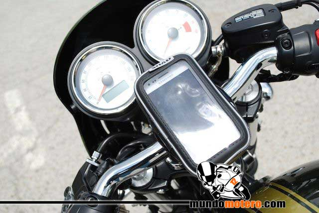 soporte de moto para GPS o Smartphone