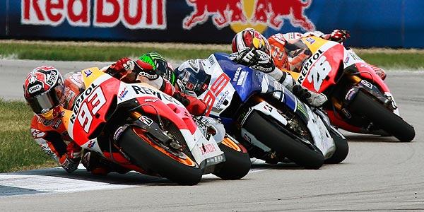 MotoGP - Marc Marquez Jorge Lorenzo y Dani Pedrosa