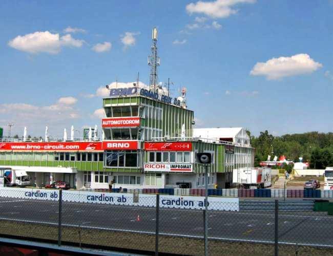 Asi es el circuito de Brno