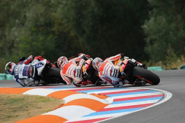Moto GP Silverstone - Jorge Lorenzo Marc Marquez Dani Pedrosa