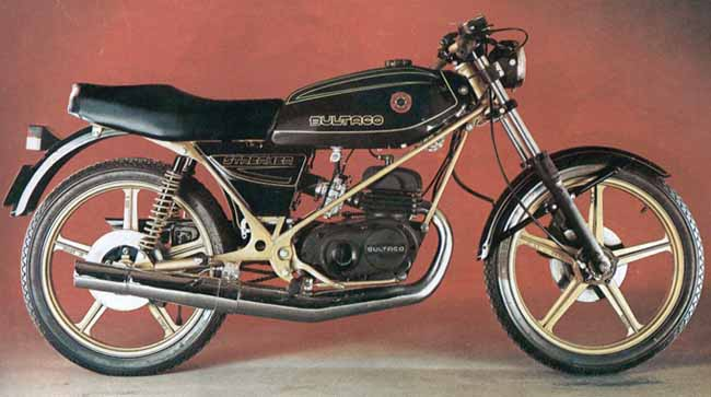 Bultaco Streaker 125 negro