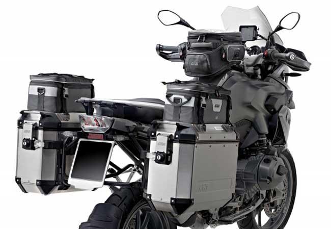 Maletas aluminio para motos de GIVI montaje