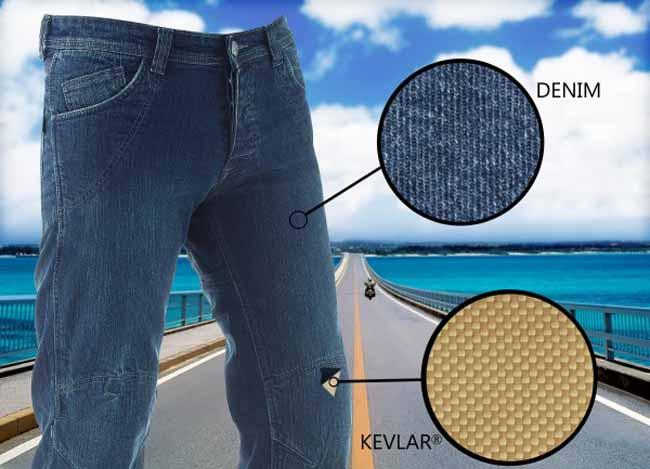 Pantalones vaqueros para moto con proteccion Easy Jeans de AXO