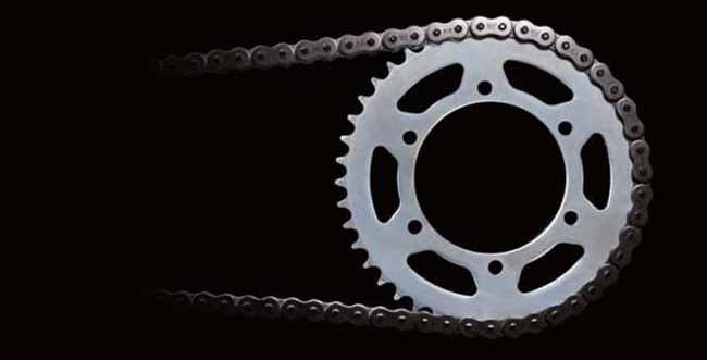 cadena y Kit de transmision moto