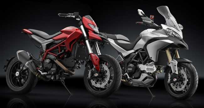 Accesorios para la Ducati Hypermotard y Multistrada por Rizoma