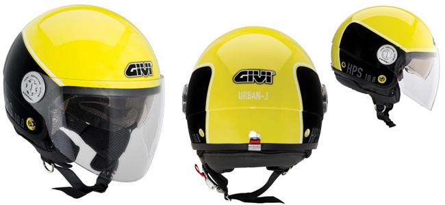 Casco de moto de alta visibilidad 10.8 Urban-J de Givi