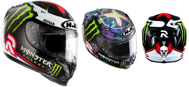 Cascos de moto HJC Replica Jorge Lorenzo