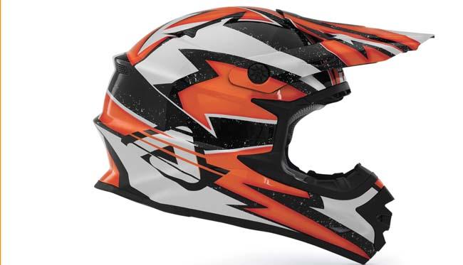 casco Acerbis Off Road X-Pro Fireflay