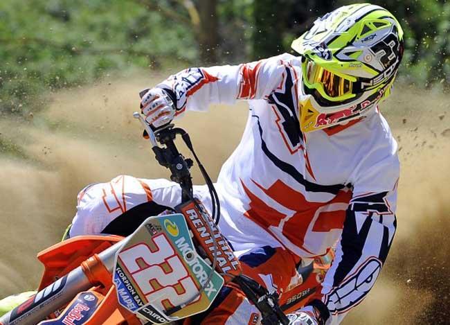 Conjunto de motocross AXO TC222