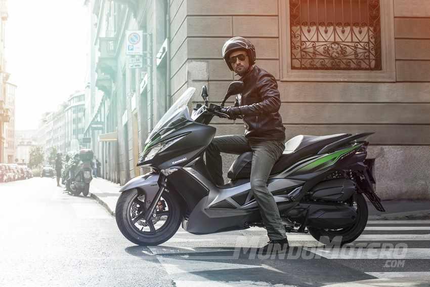 Kawasaki 300 scooter