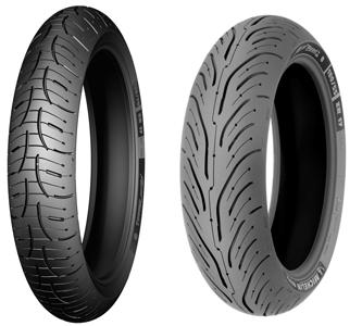 neumaticos Michelin Pilot Road 4 para motos Sport Touring, GT y Trail