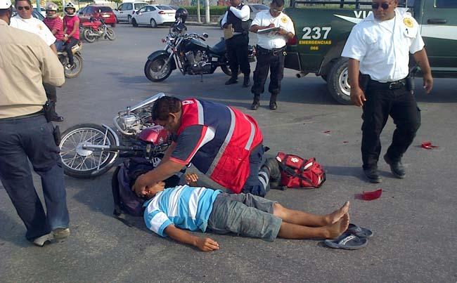 La importancia del uso del casco en moto