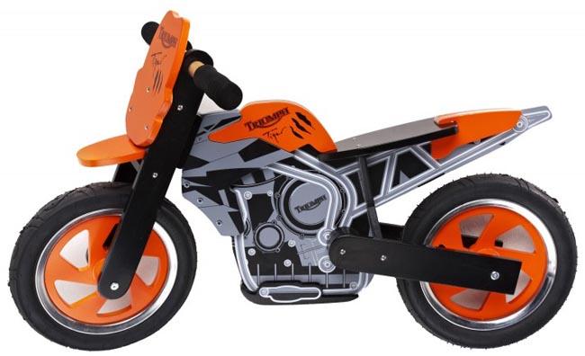 Moto de niño Triumph