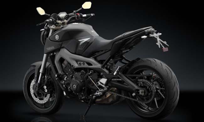motos naked Yamaha MT-09 Rizoma