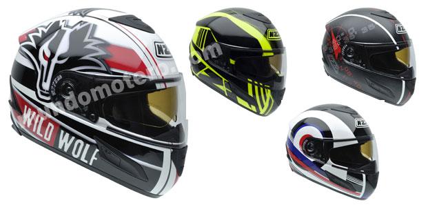 cascos de moto NZI Cursus II Sunvisor