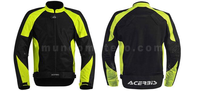 chaqueta de moto de alta visibilidad Ramsey My Vented de Acebis