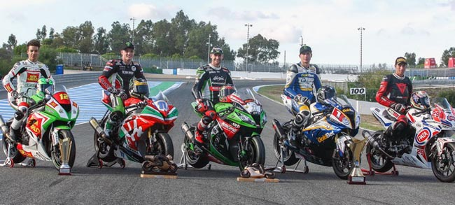 Categorias en el Campeonato del Mundo de Superbike, SBK o WSBK