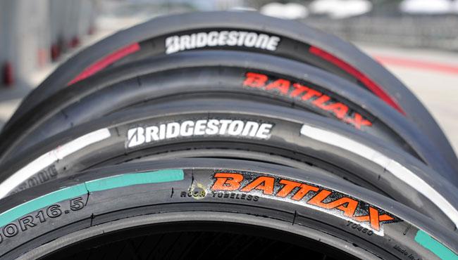Nuevo esquema de color para los neumaticos Bridgestone MotoGP 2014