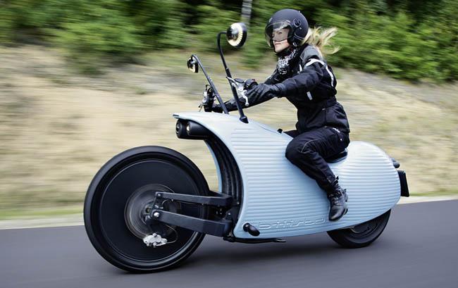 Johammer J1, una moto electrica con 200 km de autonomia.
