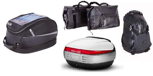 consejos para equipaje en moto