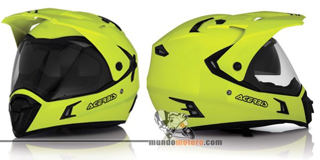 Cascos de moto de alta visibilidad, Active Fluor de Acerbis